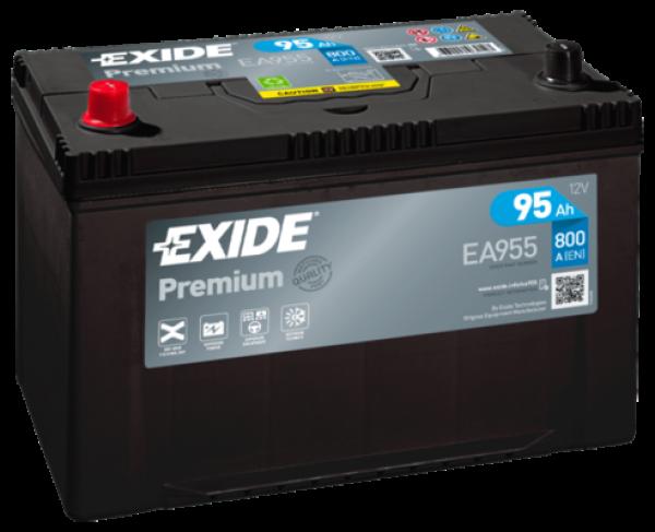 autobateria-exide-premium-12v-95ah-800a-ea955, Autobateria Exide Premium 12V 95Ah 800A EA955