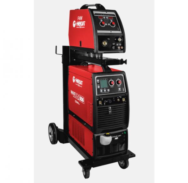 HELVI  MAXITECH 506 pulzná zváračka s vodným chladením