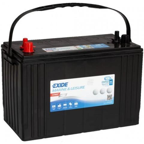 Autobatéria EXIDE START AGM EM960 12V 100Ah 800A, autobateria-exide-start-agm-12v-100ah-800a-em960