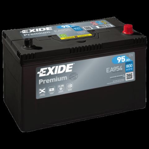 autobateria-exide-premium-12v-95ah-ea954, Autobateria Exide Premium 12V 95Ah 800A EA954