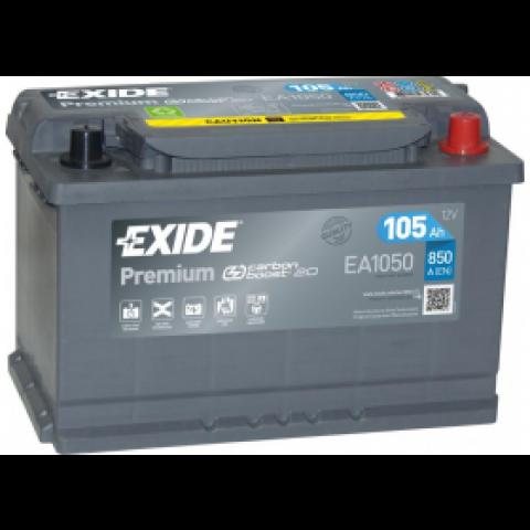 autobateria-exide-premium-12v-105ah-ea1050-850a, Autobateria Exide Premium 12V 105Ah EA1050