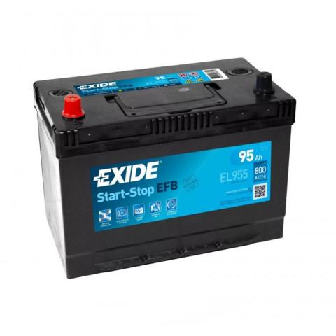 Autobatéria Exide START STOP EFB 95Ah 12V 800A EL955