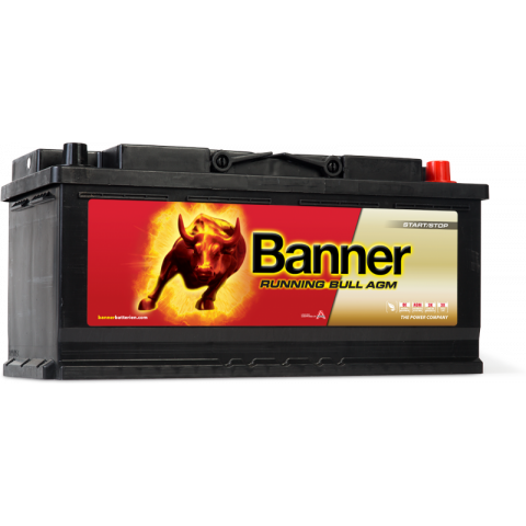 Autobatéria Banner Running Bull AGM 12V 105Ah, 950A 605 01 (60501)